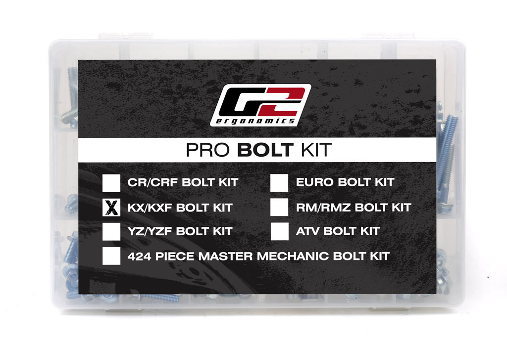 205 Piece Pro Bolt & Hardware Kit for Kawasaki KX KXF