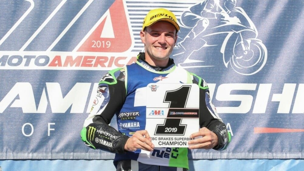 Cameron Beaubier Barber Podium 2019