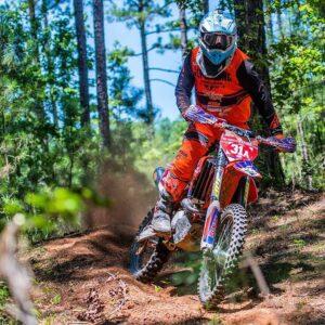 pro rider using g2 handguards