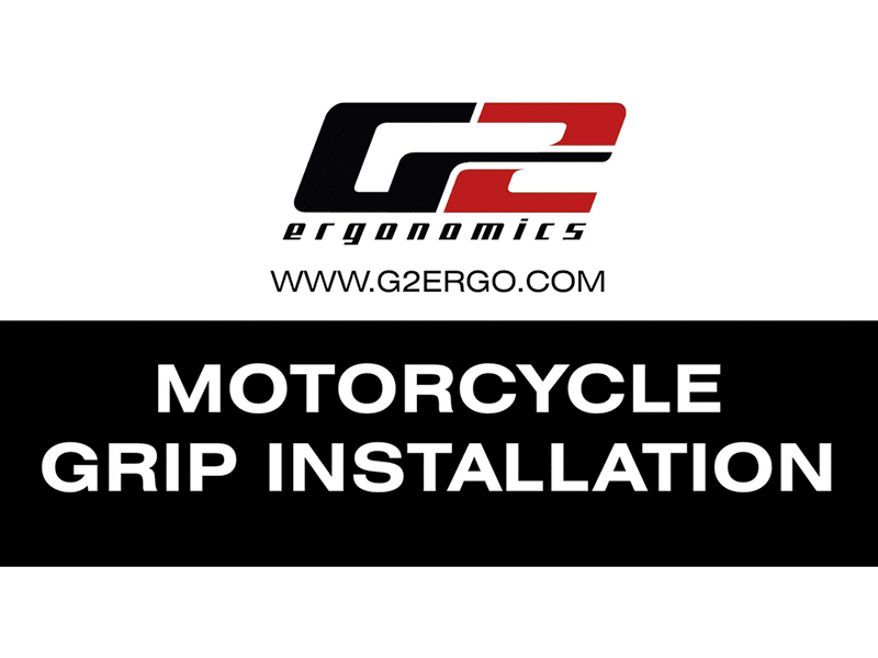 Motorcycle Grip Installation