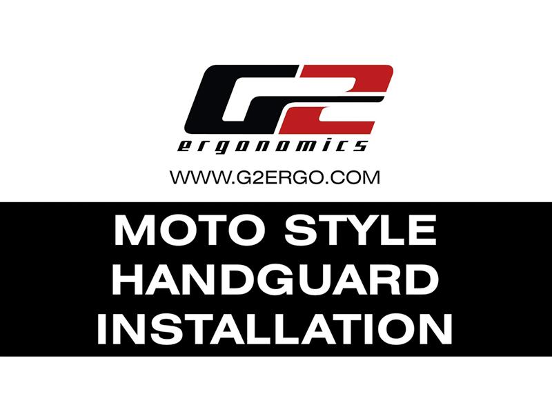 G2 Moto Style Handguard Installation