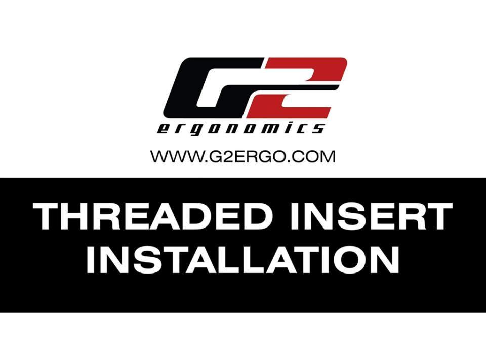 Threaded nylon insert installation